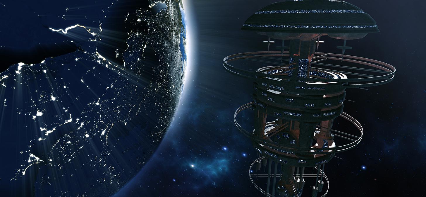 Time lapse: modeling a Space Station - BlenderNation