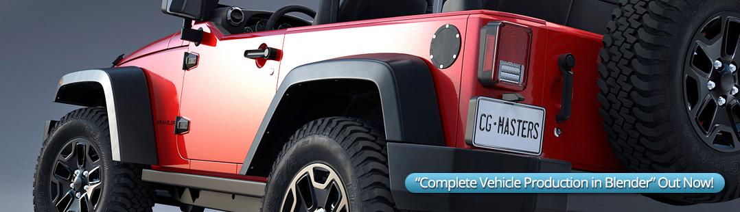 Complete Vehicle Production In Blender Blendernation