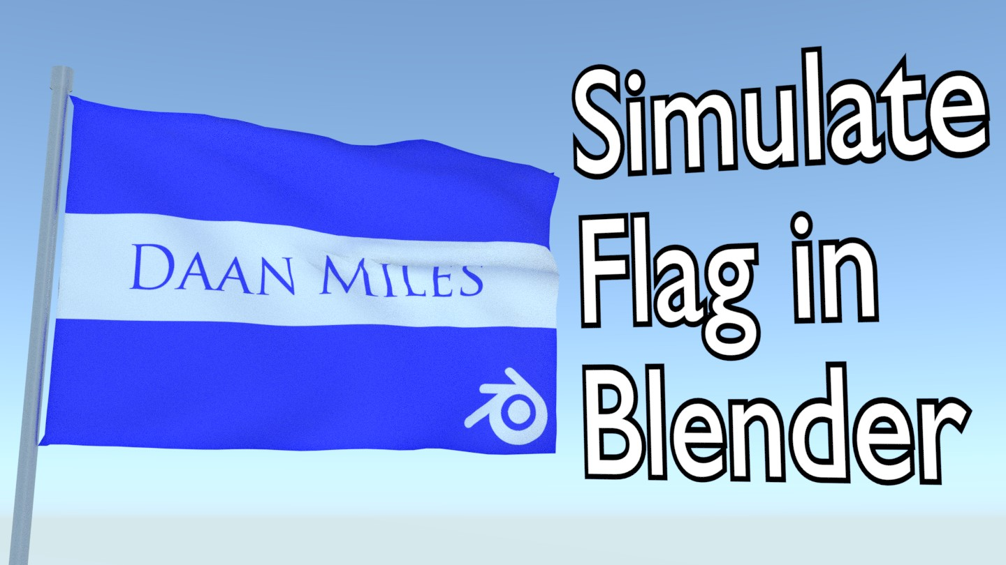 How to make an animated flag in Blender. - BlenderNation - photo#27