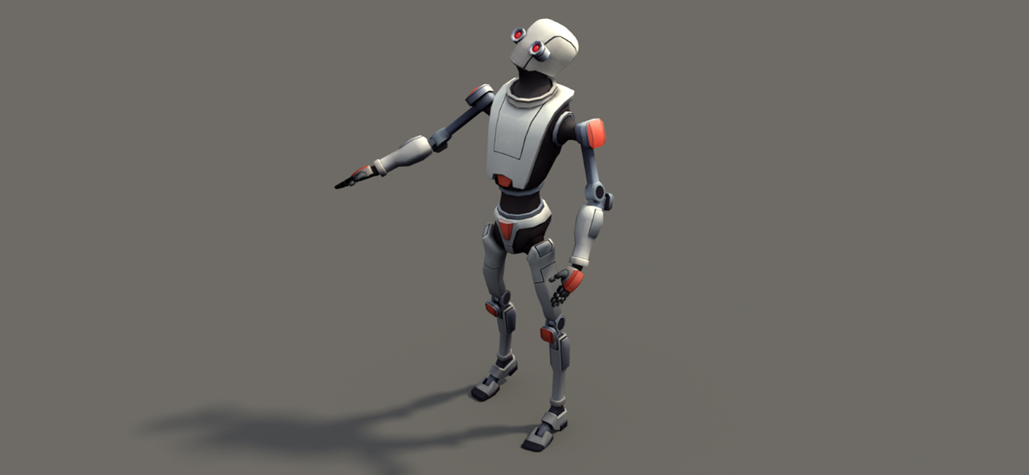 Unity Kyle Robot in Blender Cycles  BlenderNation