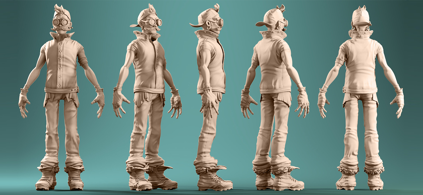 Character Modeling In Blender : Character modeling in blender blendernation