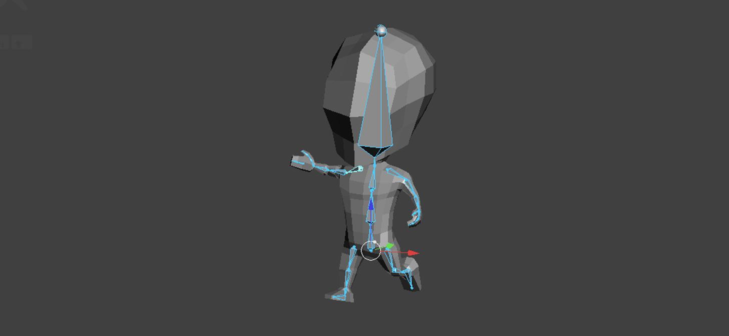 Low Poly Character Modeling Blender : Blender low poly character creation rigging blendernation