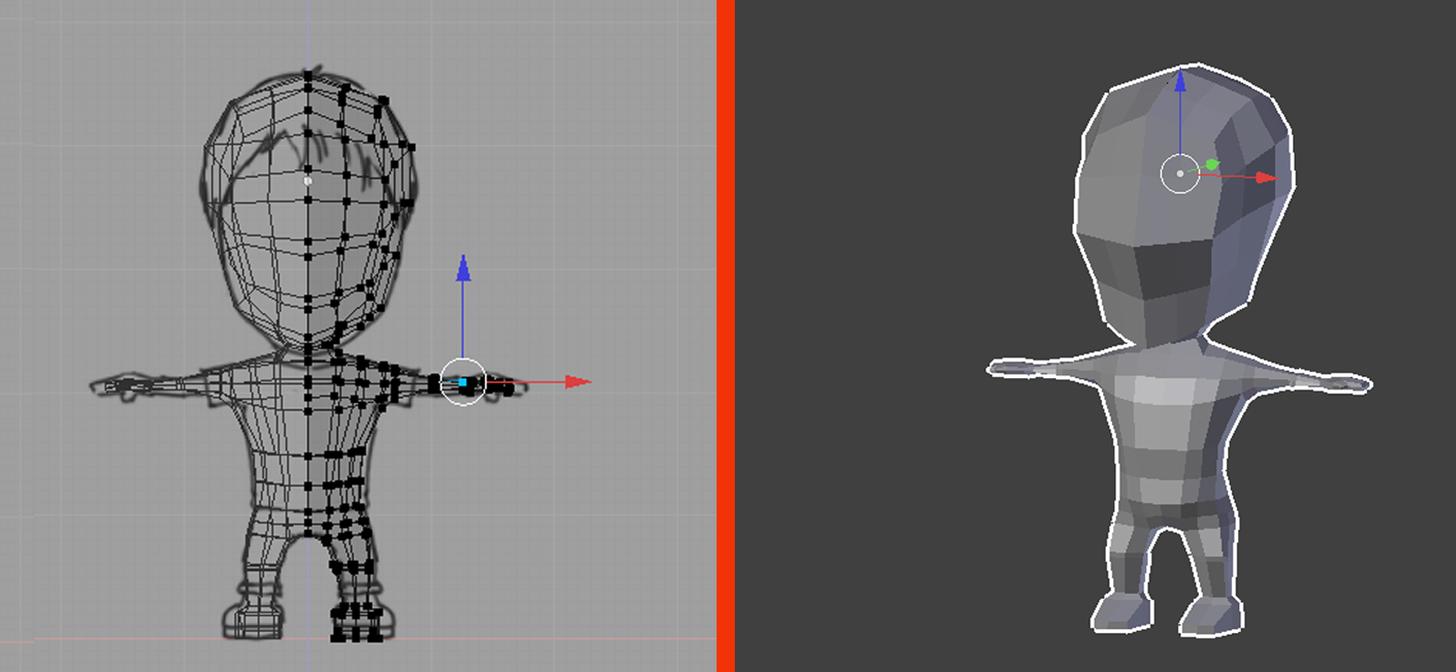 Character Modeling In Blender Download : Blender low poly character creation modeling blendernation