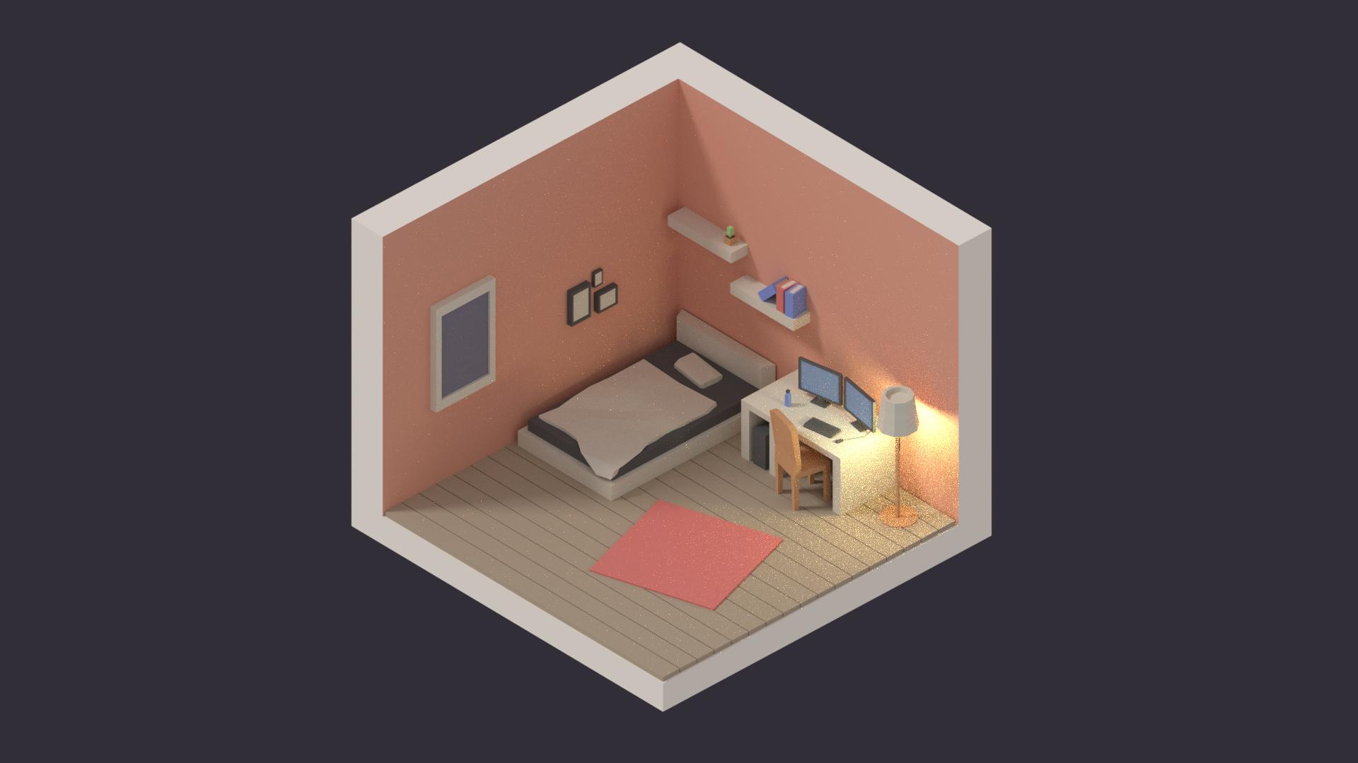 Create Isometric Rooms And Furniture In Blender Part 1 3 Blendernation