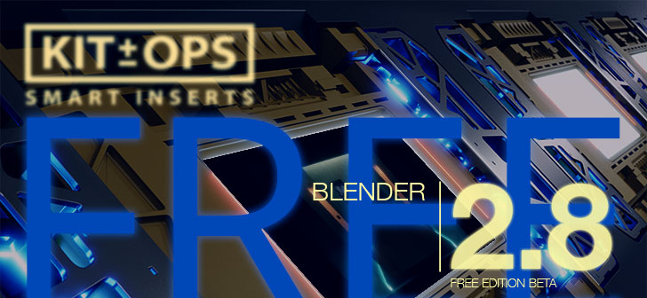 KIT OPS FREE available for Blender 2 8 beta - BlenderNation