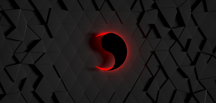 Abstract background with Hexagon Grid group node of Animation Nodes in Blender - Tutorial