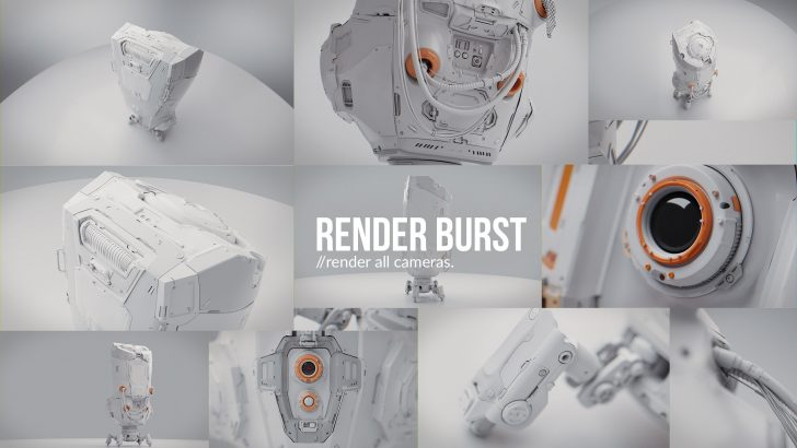 Render Burst add-on now compatible with Blender 2.81 and 2.82