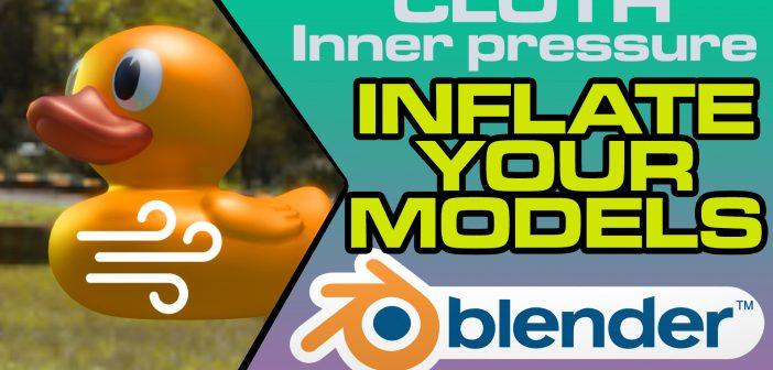 Blender 2.8 - Inflate Tutorial