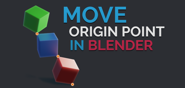 Move only Origin Point in Blender 2.81