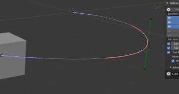 Motion Trail 3D add-on review