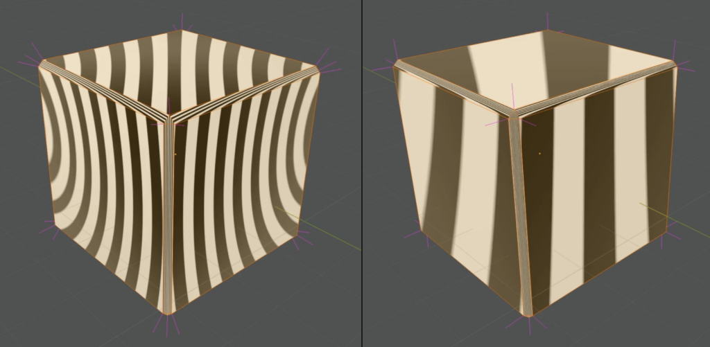 Learn how to correct mangled normals