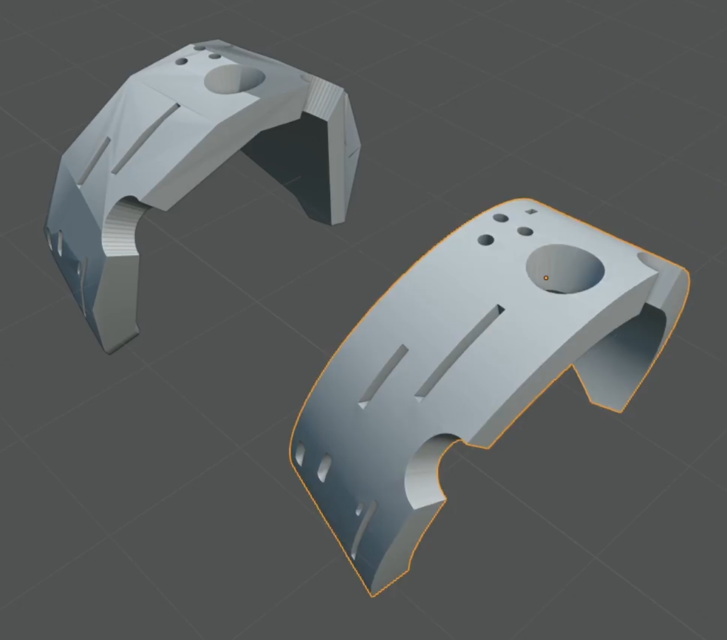 Learn how to smoothly deform triangular hard-surface meshes
