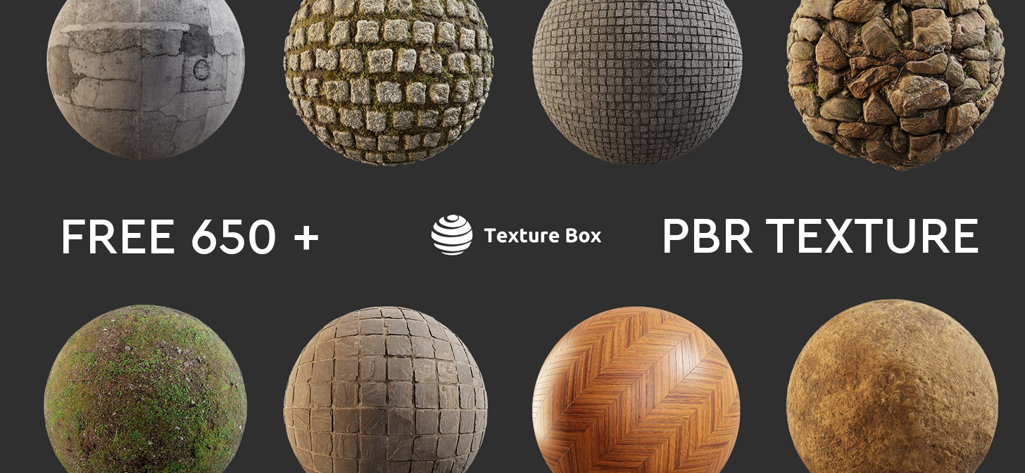 Free 650 Pbr Textures Ready To Download On Texturebox Com Promoted Blendernation