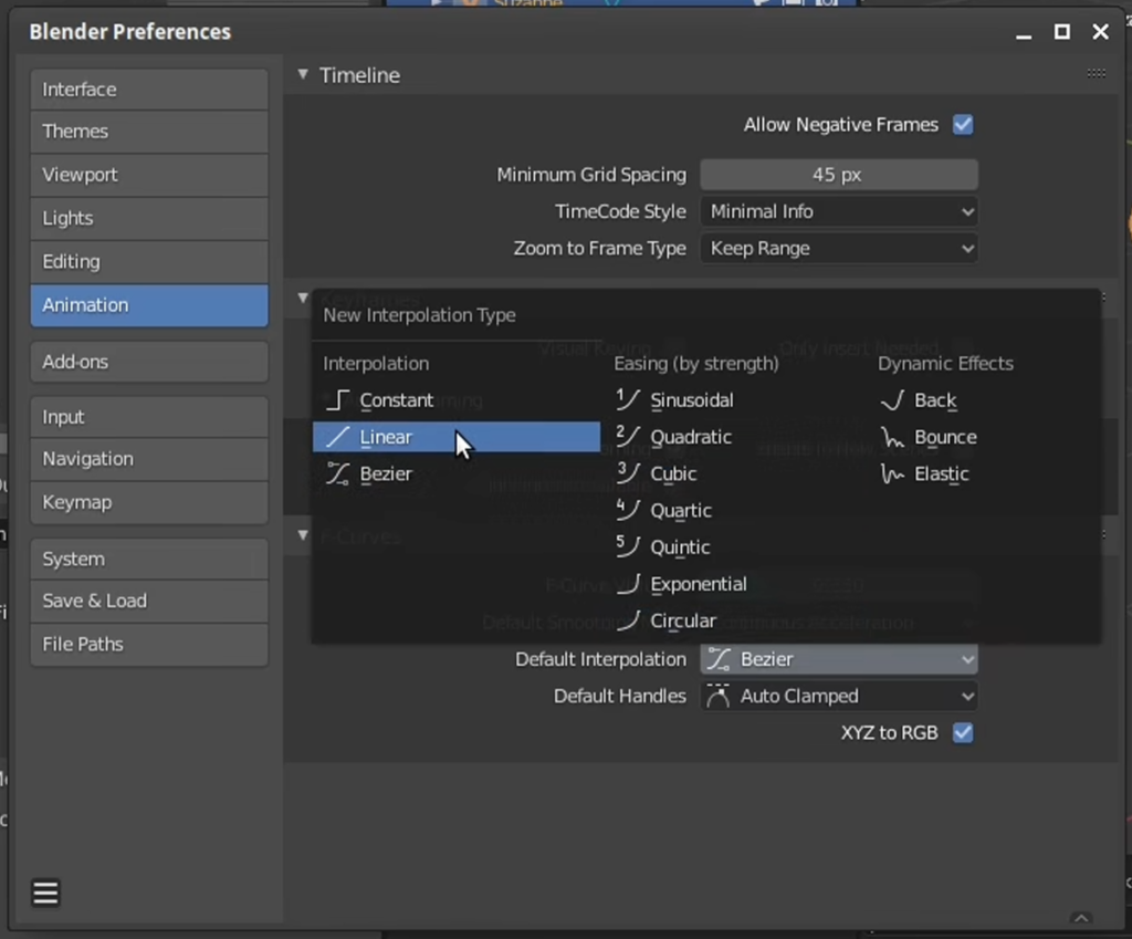 Useful tips to optimize Blender's Preferences for motion graphics creation