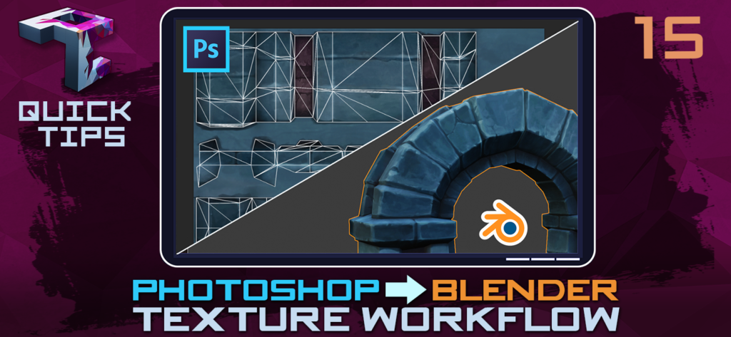 Update Handpainted Blender Textures In Near Real-time Using Photoshop