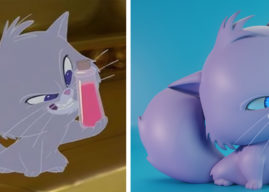 Behind the Scenes: Yzma Cat