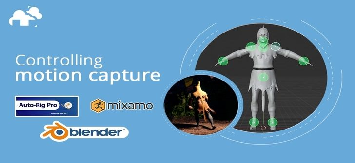 Motion Capture with Mixamo
