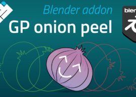New Free Grease Pencil Onion Peel Addon