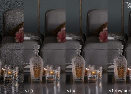 Blender 3.0 Gets OpenImageDenoise Version 1.4
