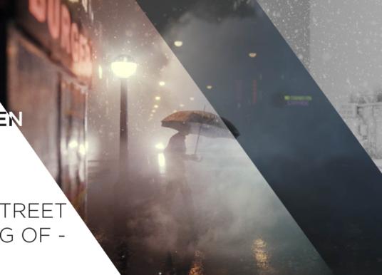 Behind the Scenes: Rainy Street