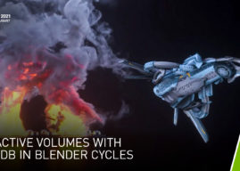 Nvidia to Hold Siggraph Session on Interactive Volumes in NanoVDB in Blender