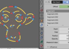 "Grease Pencil New ""Dot-Dash"" Modifier"