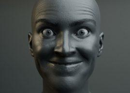 Impressive Facial Expressions in Blender by Chris Jones