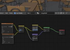 Node Editor UI Update: Colored Noodles and Customizability