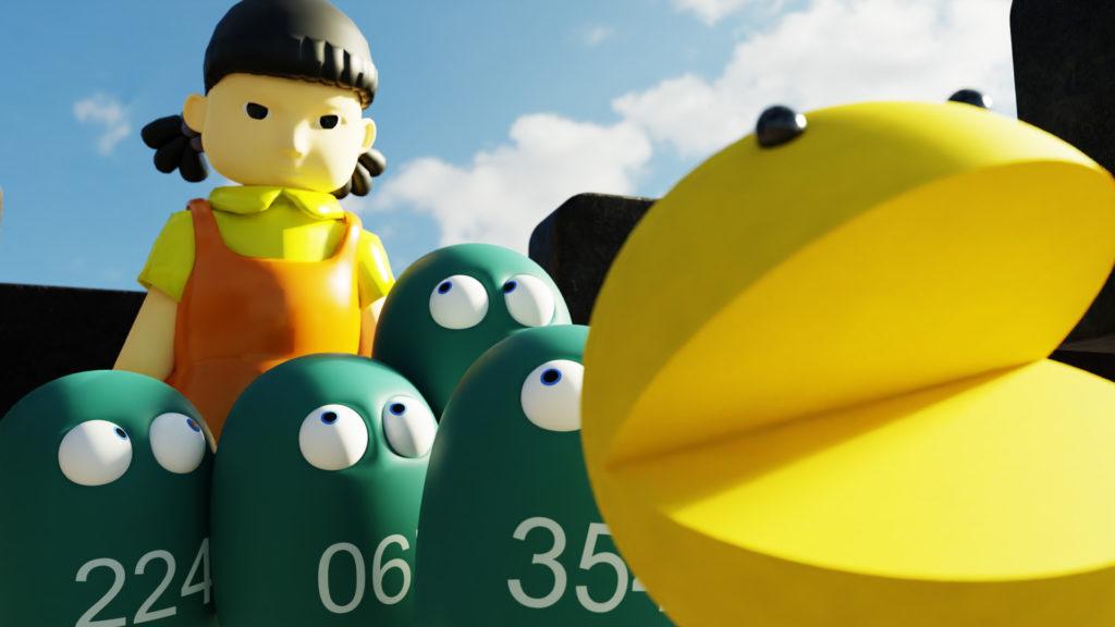 Video: Squid Game Pac-man