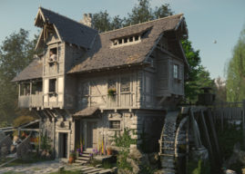 Behind the Scenes: Medieval Style Watermill